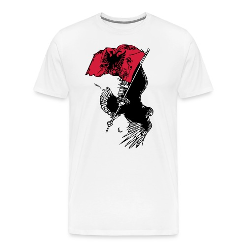 Albanischer Adler - Premium-T-shirt herr