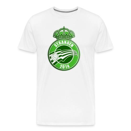 Logo med skygger png - Herre premium T-shirt
