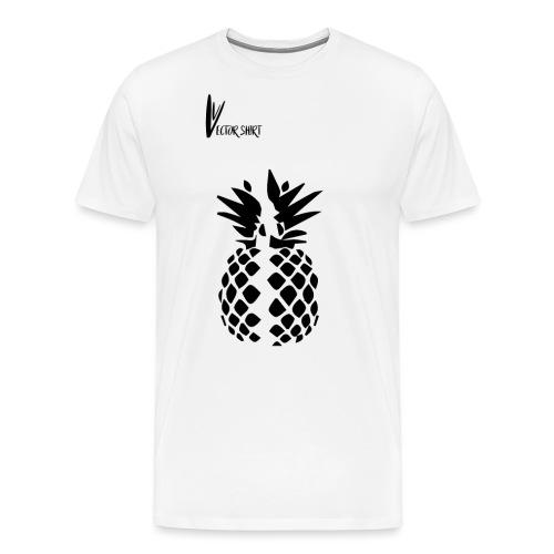 Broken Pineapple - Vector Shirt - T-shirt Premium Homme
