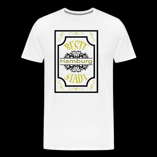 Hamburg Version 3 - Männer Premium T-Shirt