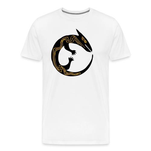 lizard - Maglietta Premium da uomo