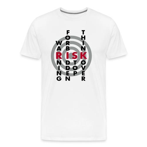 NO RISK, NO FUN - Männer Premium T-Shirt