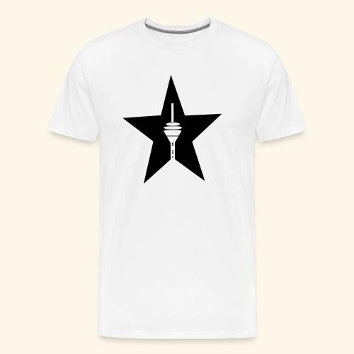 Rheinturm Düsseldorf - Männer Premium T-Shirt