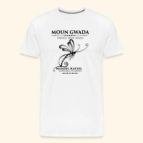 Moun Gwada-Mamzel Katzel - T-shirt Premium Homme