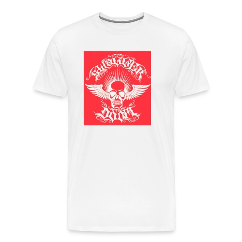Swagger & Doom Red/ White 1.0 - Men's Premium T-Shirt
