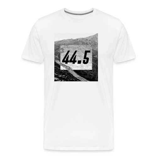 44.5   44 point 5   44 ,5   44 komma 5 - Männer Premium T-Shirt
