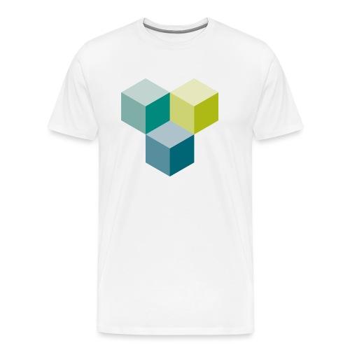 Cube - Männer Premium T-Shirt