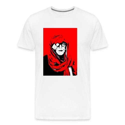 L'homme rouge représente la terre rouge d'Afrique. - T-shirt Premium Homme