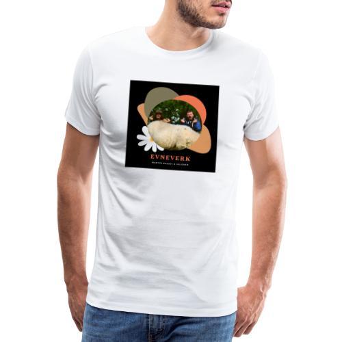 Evneverk Sheep Design - Premium T-skjorte for menn