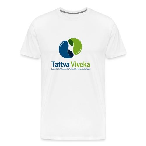 TV Logo Text unten - Männer Premium T-Shirt