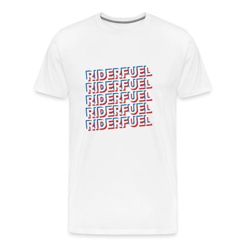 Riderfuel X 5 - Premium-T-shirt herr