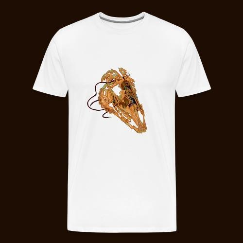 Crâne Câblé - T-shirt Premium Homme