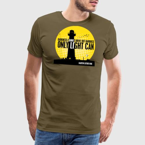 MLK png - Herre premium T-shirt