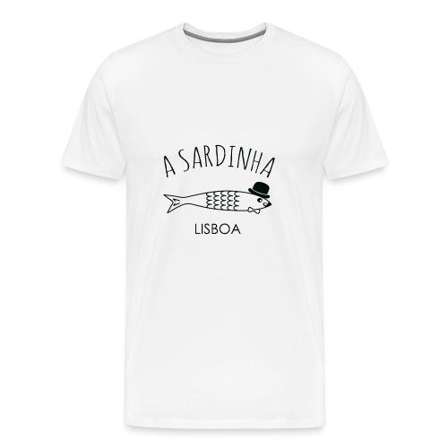A Sardinha - Lisboa - T-shirt Premium Homme