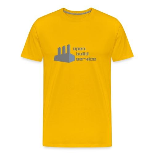 OBS Logo Color - Men's Premium T-Shirt