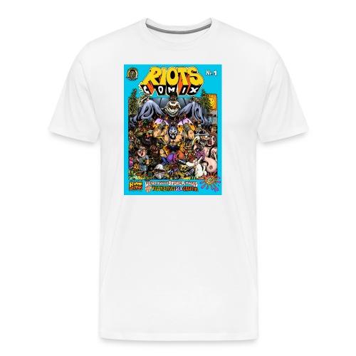 RIOTS_COMIX_Shirt_1 - Männer Premium T-Shirt