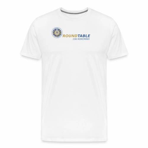 RT106 RoundTable 106 Kokemäki - Miesten premium t-paita