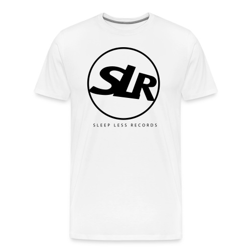 Sleep Less Generation Tee - White Cotton - Men's Premium T-Shirt