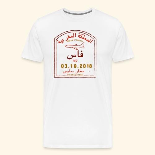 aéroport fes saiss - T-shirt Premium Homme