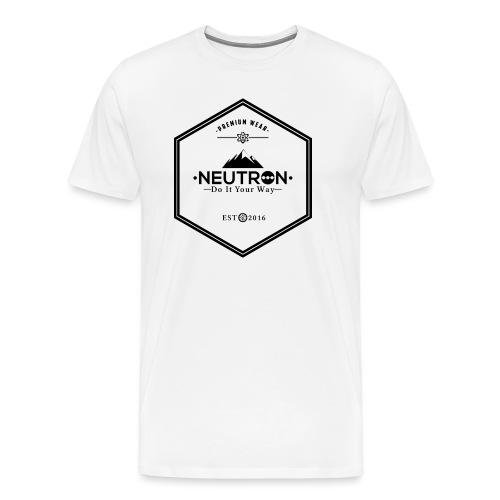 Neutron Hipster Logo - Männer Premium T-Shirt