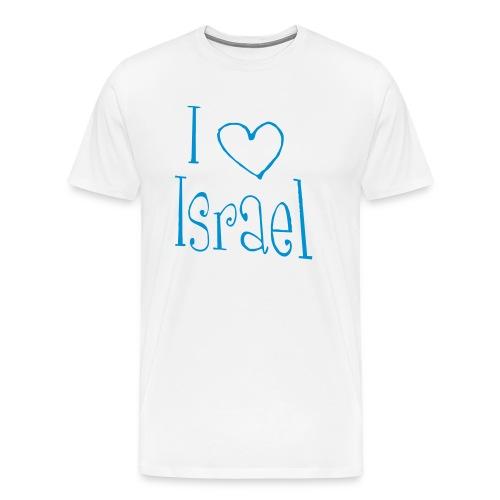 I love Israel - Männer Premium T-Shirt