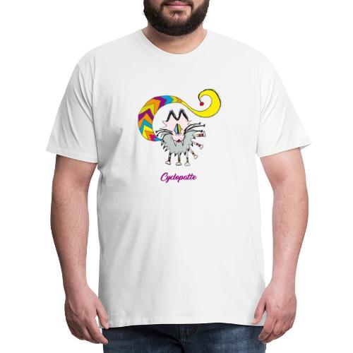 Cyclopatte - T-shirt Premium Homme