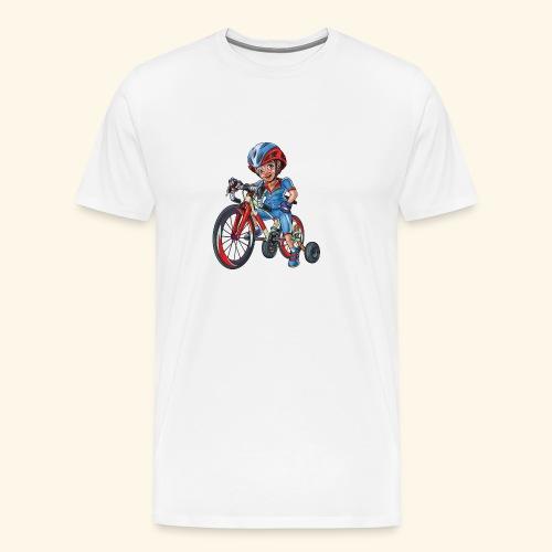 Small Biker - Men's Premium T-Shirt