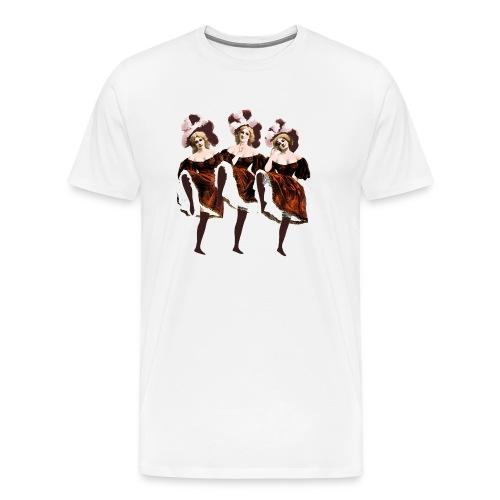 Vintage Dancers - Men's Premium T-Shirt