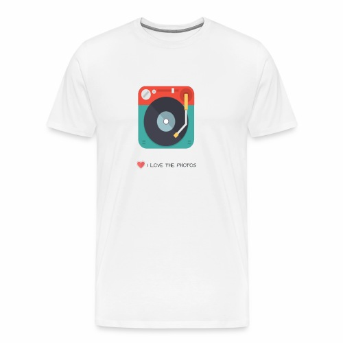 I LOVE THE PHOTOS - Camiseta premium hombre