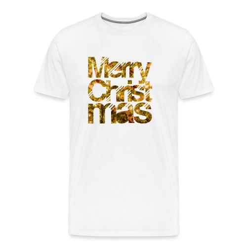 Merry Christmas - Mannen Premium T-shirt