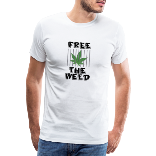 Free the Weed - Männer Premium T-Shirt