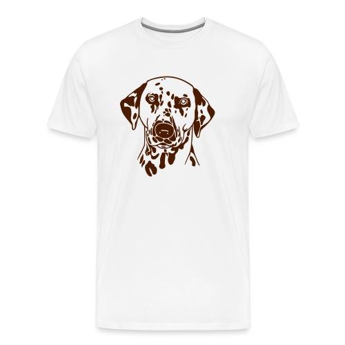 Dalmatiner 028 - Männer Premium T-Shirt