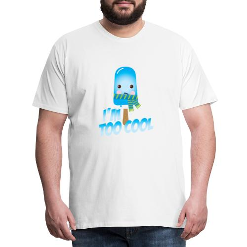 Funny to cool spell cute ice cream in summer - Men's Premium T-Shirt