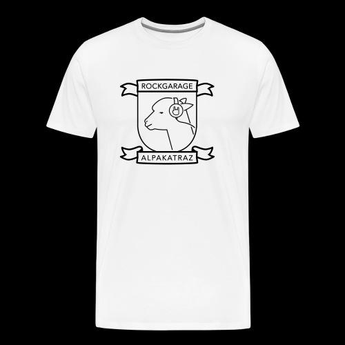 Rockgarage Alpakatraz - Männer Premium T-Shirt