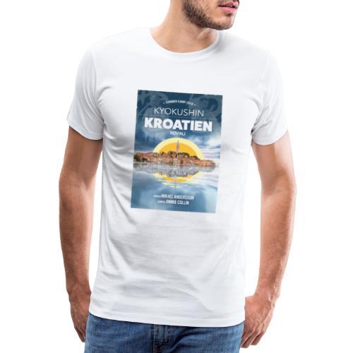 Kyokushin Karate Rovinj 2019 - Premium-T-shirt herr