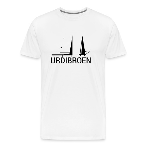 Urdibroen Coffee mug, white - Premium T-skjorte for menn
