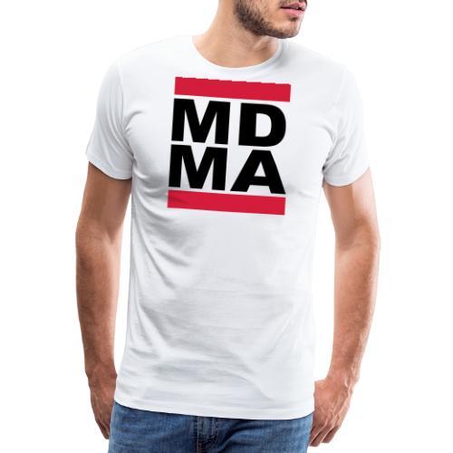 MDMA TwoColor Retro - Männer Premium T-Shirt