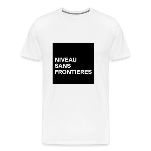 ruedigerhund NIVEAU SANS FRONTIERES - Männer Premium T-Shirt