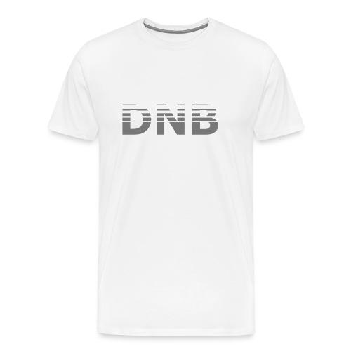 DNB_Logo_Fade - Männer Premium T-Shirt