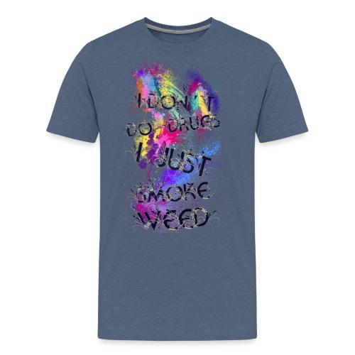 Just smoke - Männer Premium T-Shirt