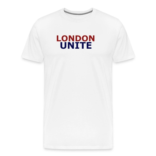 London Unite White T-Shirt - Men's Premium T-Shirt