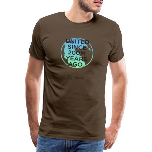 Pangea supercontinent - Men's Premium T-Shirt