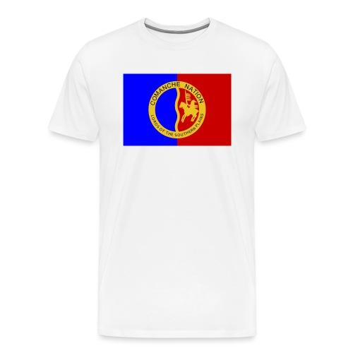 1200px Flag of the Comanche Nation svg - T-shirt Premium Homme