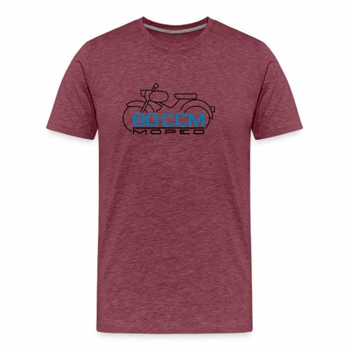 Moped sparrow 60 cc emblem - Men's Premium T-Shirt