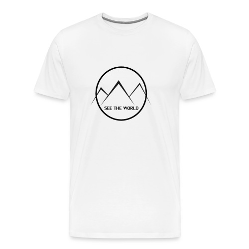 Lake The World - Men's Premium T-Shirt
