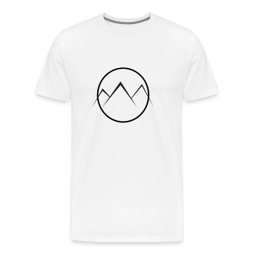 World of Mountains - Men's Premium T-Shirt