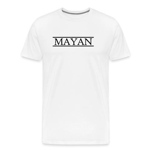 Mayan Logo - Mannen Premium T-shirt