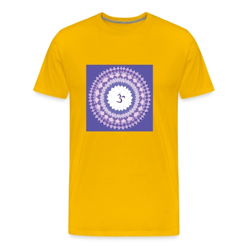 Sahasrara - Crown Chakra - Miesten premium t-paita