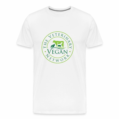 Veterinary Vegan Network Logo - Men's Premium T-Shirt