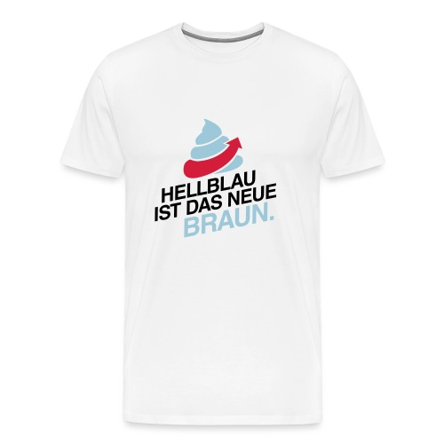 Das neue Braun #fckafd - Männer Premium T-Shirt